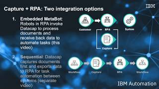 RPA_Datacap, data, Data capture, Advanced, Advanced data capture, IBM, Pragma edge, Pragmaedge,